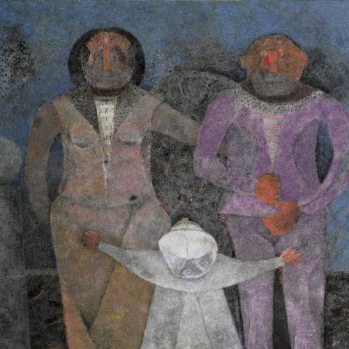 """""""La Familia"""", por Rufino Tamayo"""