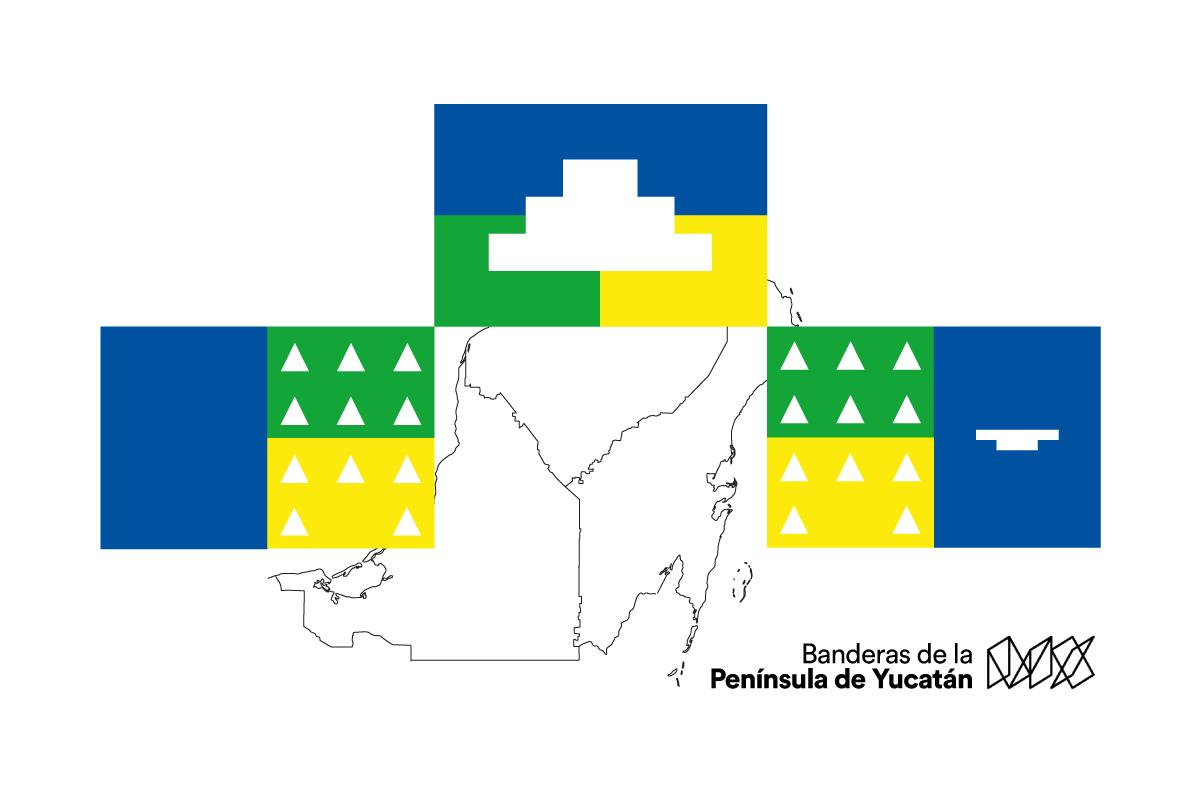 Banderas-de-la-Península-de-Yucatán
