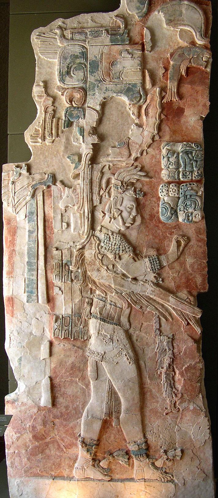 U Pakal K´inich, cacique de Palenque
