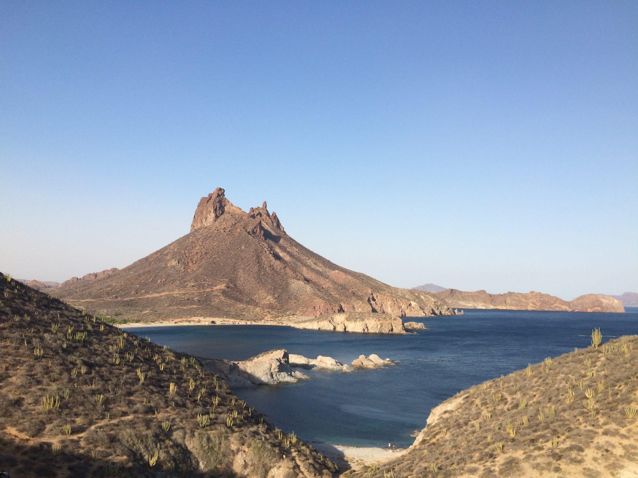 Cerro Tetakawi cerca de Guaymas