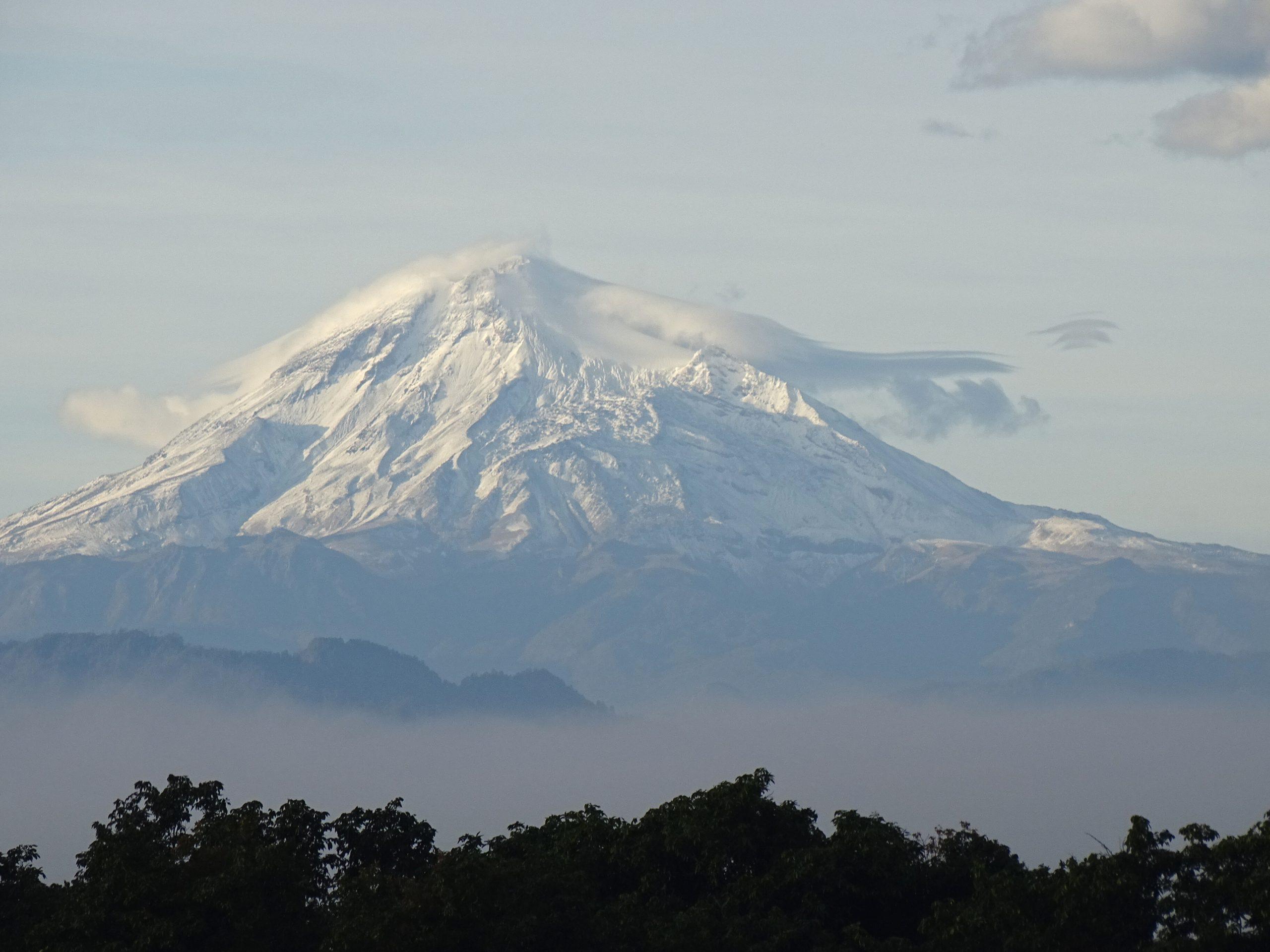 Vista del Citlatépetl desde Xalapa
