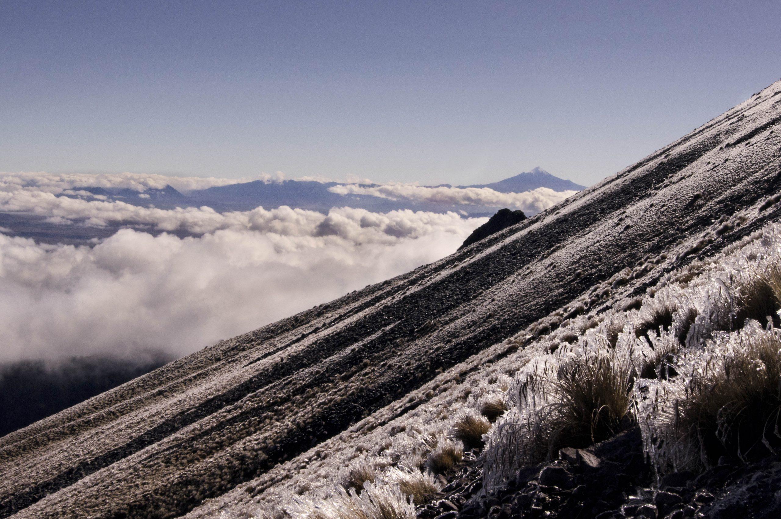 Valle de Tlaxcala desde el volcán Matlalcueye