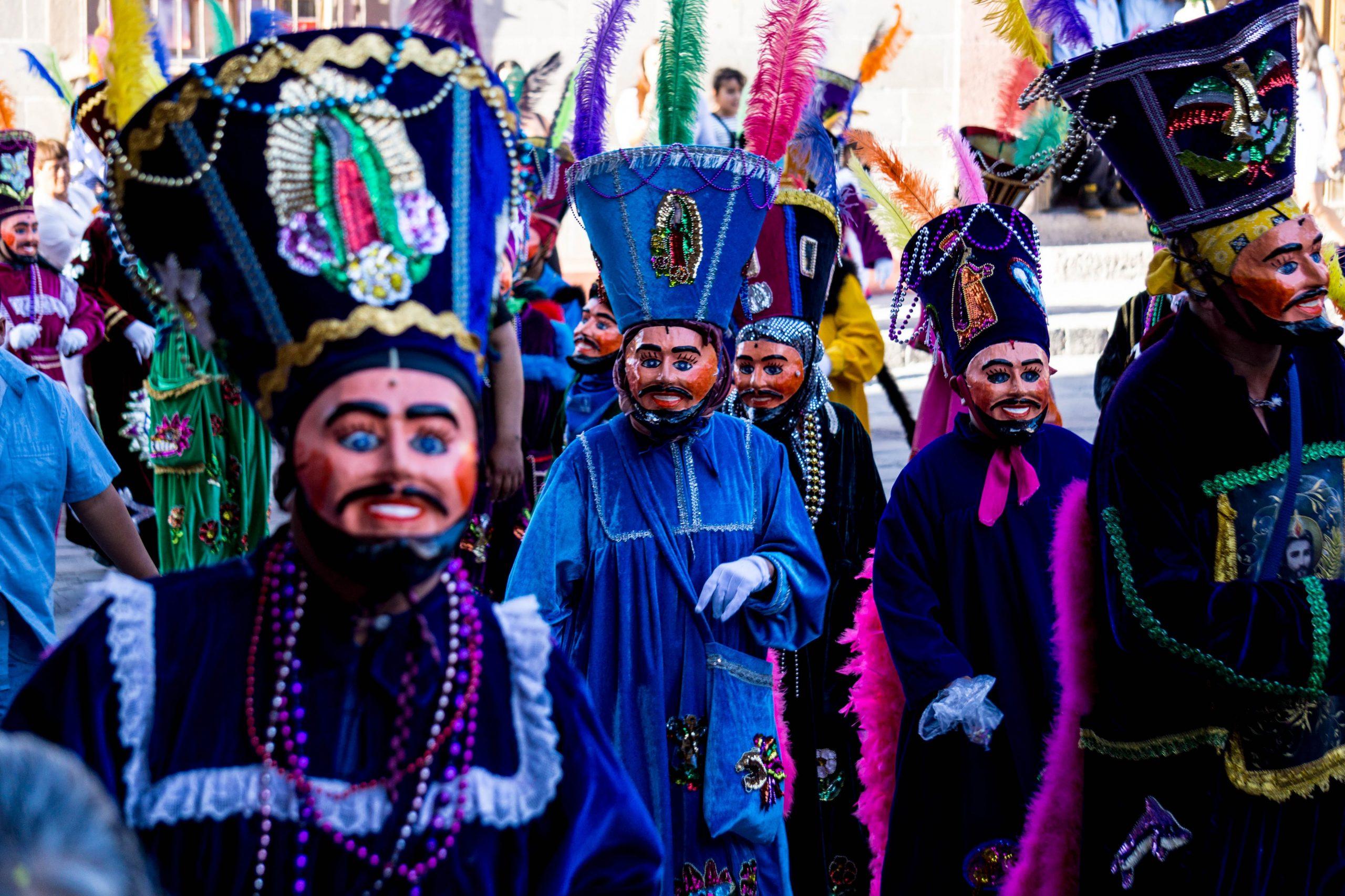 Fiesta patronal en San Miguel de Allende