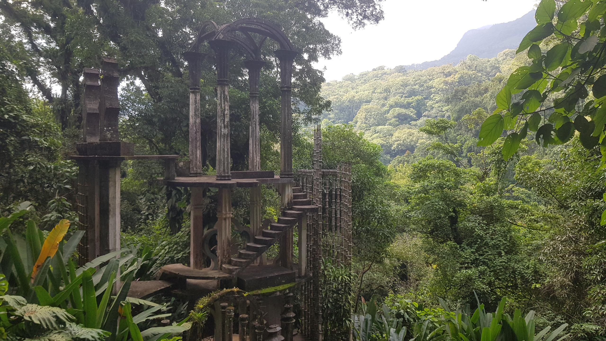 Jardín escultórico en Xilitla