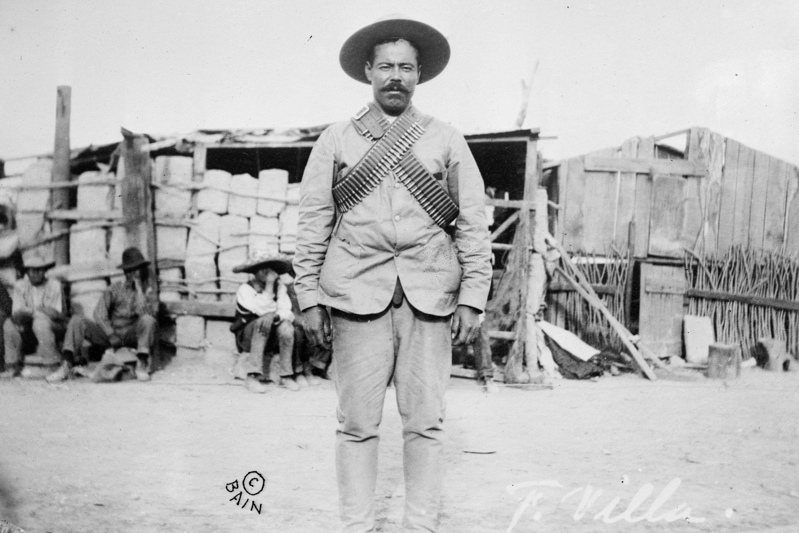 Francisco Villa, líder durante la Revolución de 1910