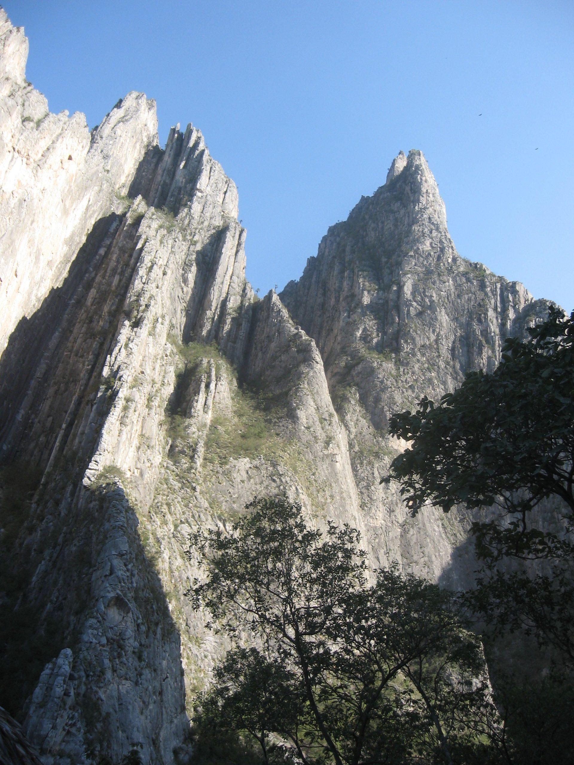 Sierra de San Nicolás, Nuevo León